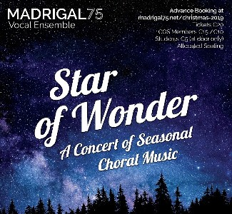Madrigal 75: Star of Wonder Christmas Concert