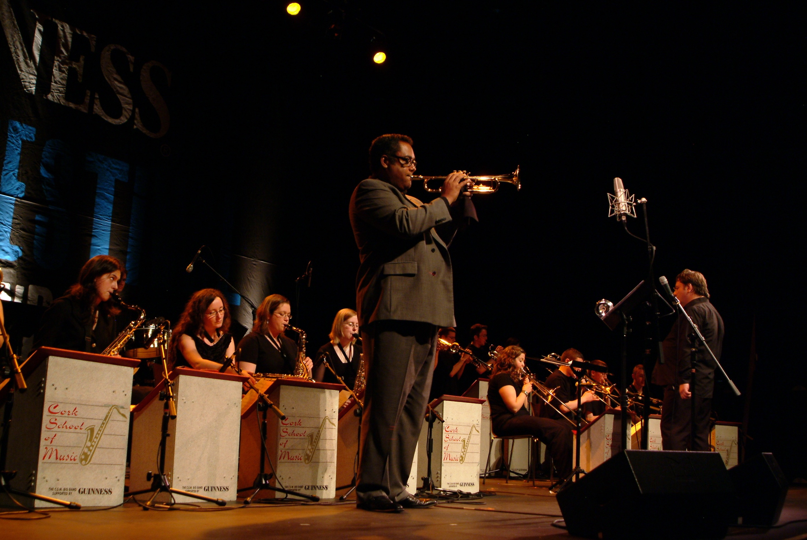CSM Jazz Big Band - soloist Jon Faddis